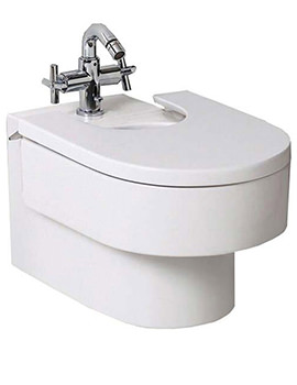 Roca Happening Wall Mounted Bidet With Seat Cover - 357565000