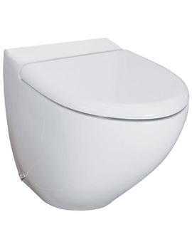 RAK Reserva Back To Wall WC Pan With Standard Toilet Seat 555mm