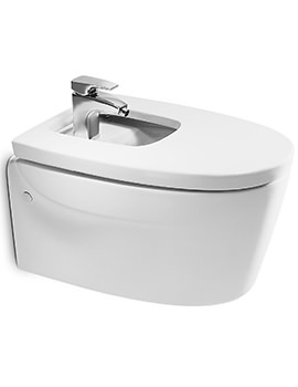 Khroma White Wall Hung Over Rim Bidet 610mm - 357655000
