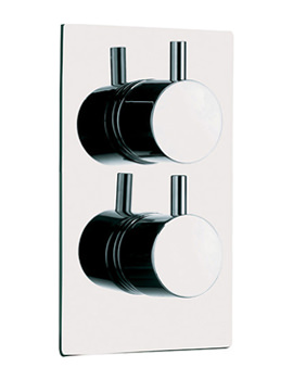 Levo Single Outlet Dual Control Concealed Thermostatic Shower Valve