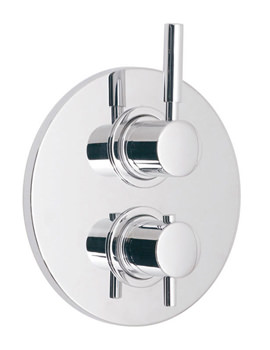 Origins Concealed 2 Handle Thermostatic Shower Valve