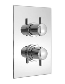 Related Vado Celsius Concealed 2 Handle Thermostatic Shower Valve - CEL-148B-SQ