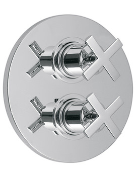 Tonic Concealed 2 Handle Thermostatic Shower Valve