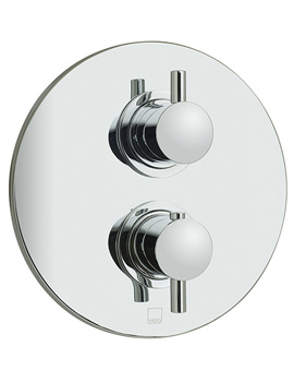 Celsius Concealed 2 Handle Thermostatic Shower Valve - CEL-148B-RO