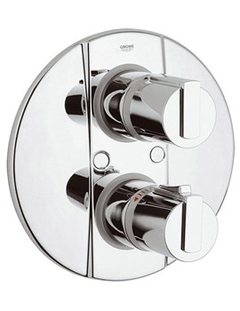 Grohtherm 2000 Thermostatic Shower Mixer Valve Chrome - 34235000