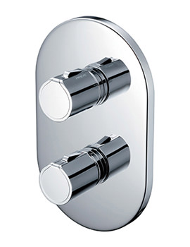 Active Faceplate And Handles For Shower Valve