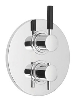 Nuance Concealed 2 Handle Thermostatic Shower Valve
