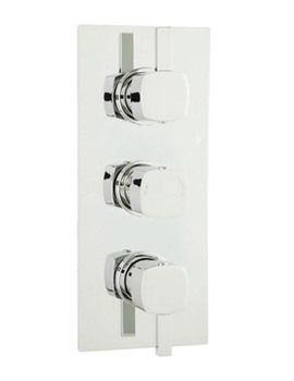 Related Ultra Muse Triple Concealed Thermostatic Shower Valve With Diverter