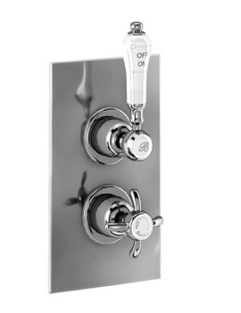 Burlington Trent Thermostatic Valve With Anglesey Handle