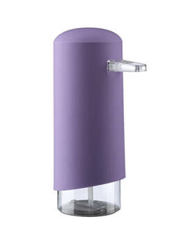 Croydex Homeware Purple Foam Soap Dispenser - PA661261