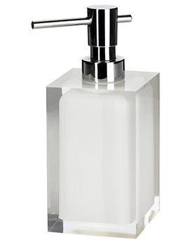 Related Croydex Milford Soap Dispenser Clear and White - FS636622