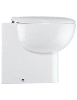 Wisp Back To Wall WC 365 x 530mm White