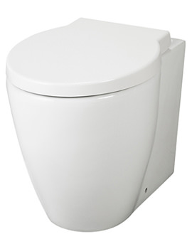 Related Lauren Darwin Back To Wall Pan With Soft Close Seat - NCR206