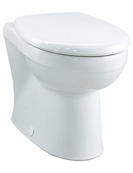 Galerie Flushwise Back-To-Wall WC Pan 517mm - GN1438WH