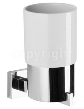 Zeya Ceramic Single Tumbler Holder - ZE003C