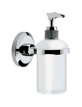 Related Bristan Solo Frosted Glass Soap Dispenser Chrome Plated - SO SOAP C