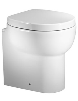 Roper Rhodes Zest Short Projection Back To Wall WC Toilet 450mm - Image