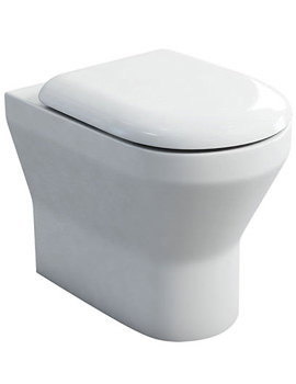Curve S30 BTW WC With Carbamide Soft Close Angled Seat