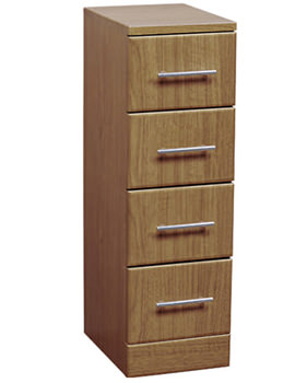 Gem Calvados 4 Drawer Unit 350x766mm - EF107C