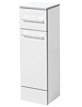Touch 250 x 800mm Floor Standing Storage Cupboard - FH25F