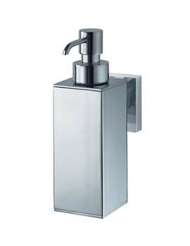 Aqualux Haceka Mezzo Metal Soap Dispenser Chrome - 1122439