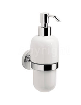 Related Crosswater Central Soap Dispenser - CE011C