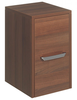 Bauhaus Essence 300mm Single Door Storage Unit - Walnut