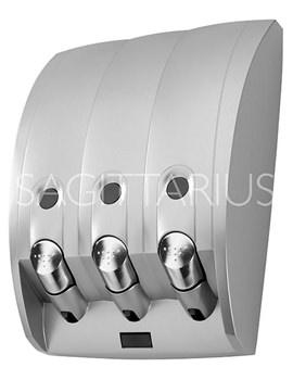 Related Sagittarius Curve 3 Section Soap Dispenser - AC-236-C