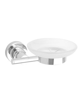 Red Dot Luup Chrome Soap Dish Holder