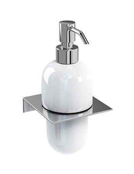 Related Britton Stainless Steel Shelf With Ceramic Soap Dispenser