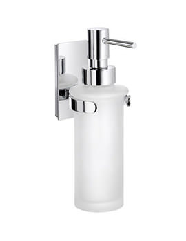 Pool Glass Soap Dispenser With Holder