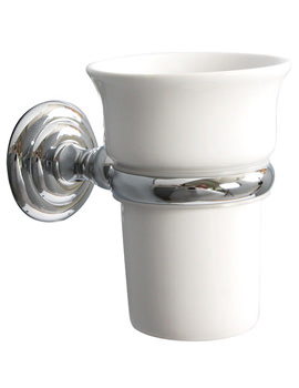 Richmond Ceramic Tumbler And Holder - 6603C
