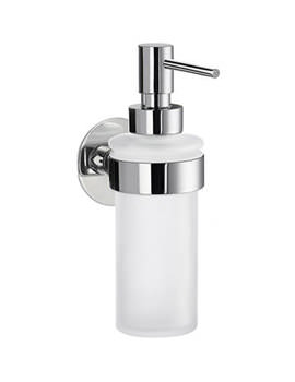 Related Smedbo Time Frosted Glass Soap Dispenser With Holder - YK369