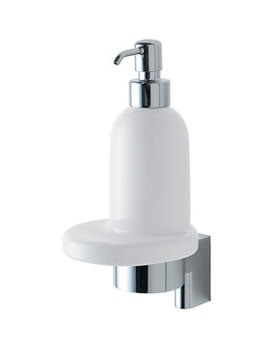 Concept Ceramic Soap Dispenser With Bracket And Holder