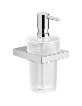 Urban Square Soap Dispenser With Glass Pump - EA31021