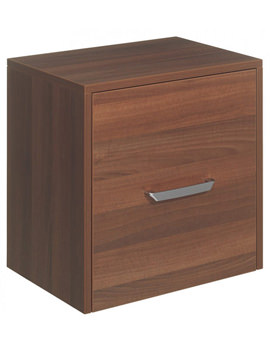 Bauhaus Essence 500mm Single Door Storage Unit - Walnut