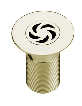 Bristan Luxury Gold Long Shower Waste With Removable Grid - W SHW4 C