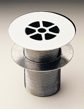 Sink Or Shower Grid Waste Unslotted - WF4343CP