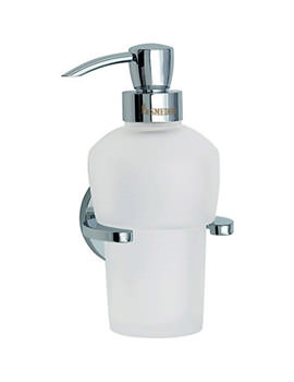 Smedbo Loft Wallmounted Glass Soap Dispenser - LK369