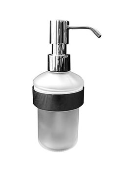 Related Duravit D-Code Chrome Wall Mounted Soap Dispenser - 009916