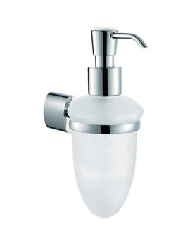 Soho Frosted Glass Soap Dispenser - SOH-182A