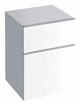 3D Side Unit Alpine White 450 x 600mm