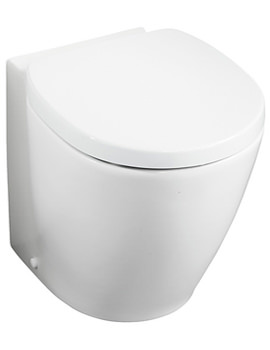 Ideal Standard Concept Space Compact Back-To-Wall WC Pan 485mm