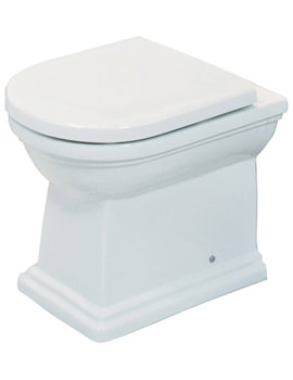 Empire Back To Wall WC Pan With Standard Seat 540mm
