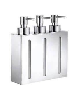 Smedbo Outline Wall mounted Triple Soap Dispenser - FK259