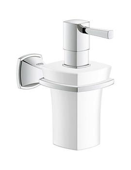 Grandera Ceramic Soap Dispenser With Chrome Holder - 40 627 000