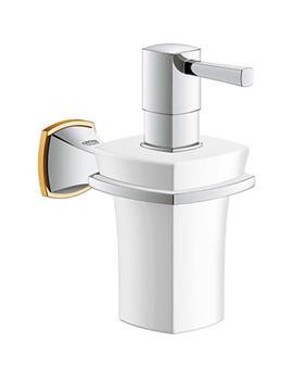 Grandera Ceramic Soap Dispenser With Holder  - 40 627 IG0