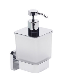 Frosted Glass Soap Dispenser - 8515.02