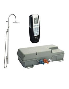 Remote Digital Shower- Grand Rigid Riser - AX324 - A3605