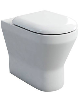 Britton Tall S48 Back To Wall WC With Carbamide Soft Close Seat